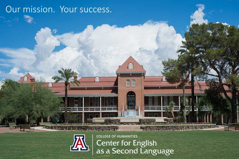 University of Arizona CESL Center for English as a Second Language main image
