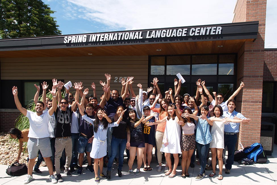 Spring International Language Center sponsored listing logo
