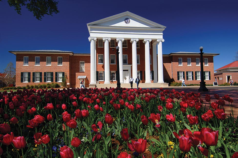 University of Mississippi sponsored listing logo