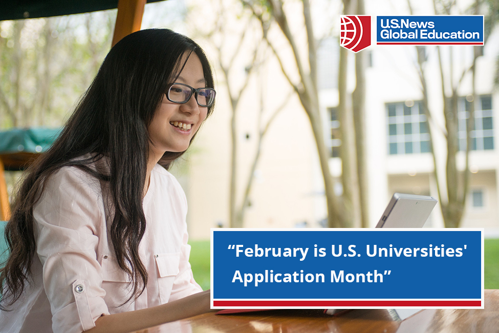 U.S. Universities' Application Month. Apply to your dream university today. sponsored listing logo