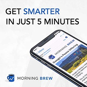 모닝 브루(Morning Brew) student service